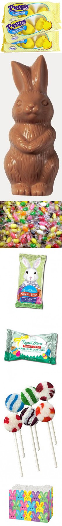 Sugar free hippity hop easter bunny gift box by diabetic candy sugar free hippity hop easter bunny gift box by diabetic candy filled with peeps chocolate negle Gallery