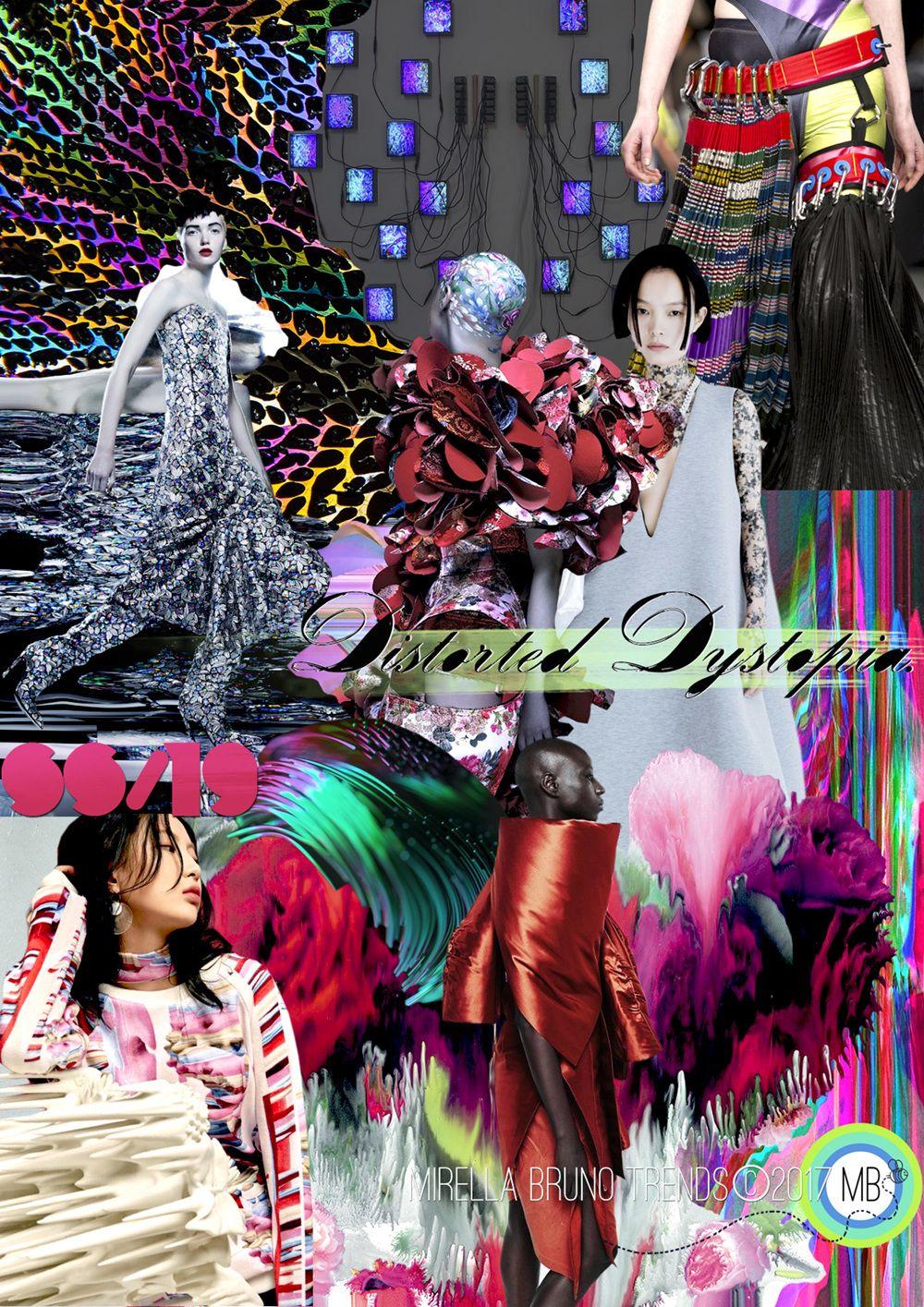 Distorted Dystopia SS/19 - Mirella Bruno Print Pattern and ...