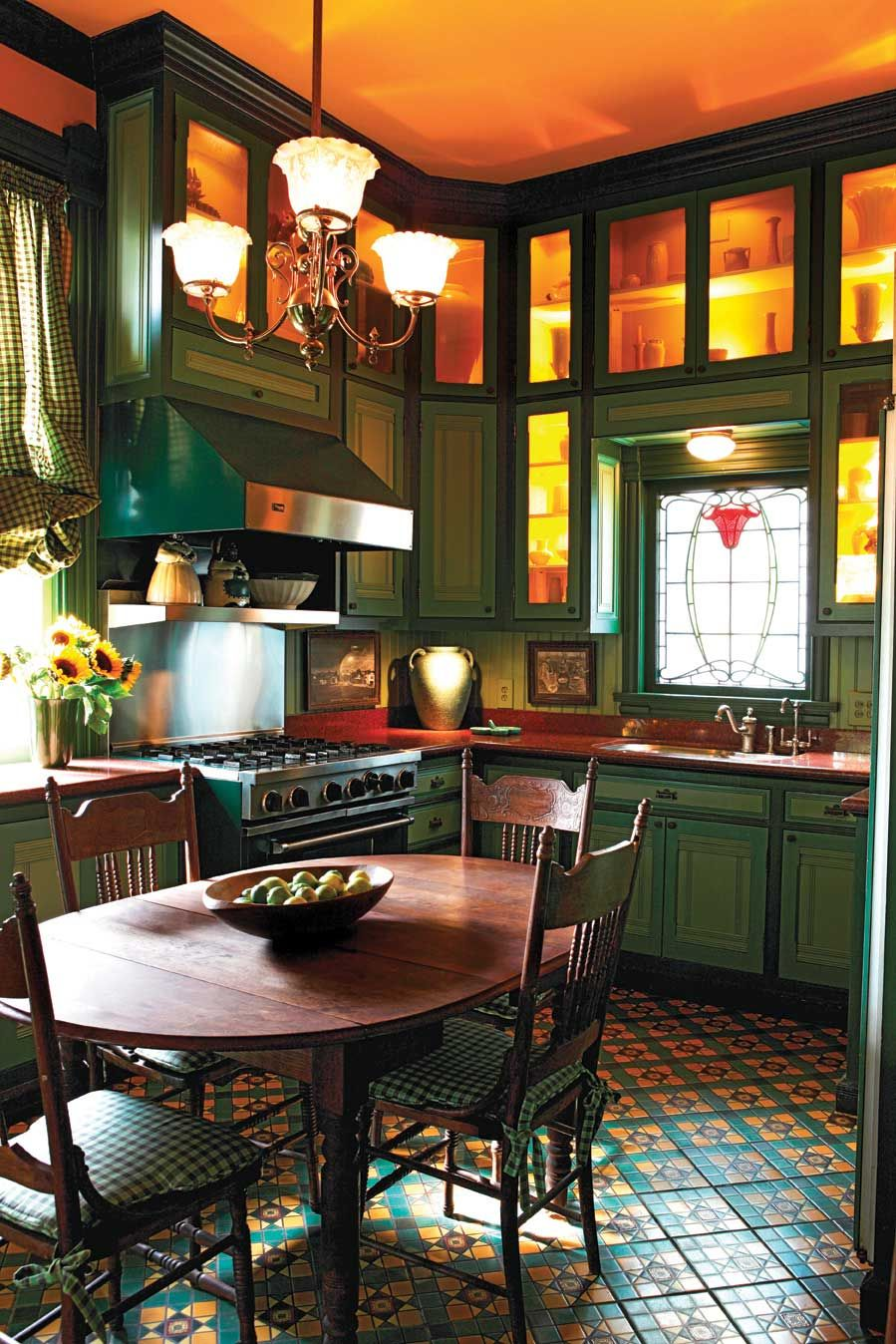 See This Image On This Eastlake Style Victorian Kitchen