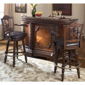 North S Bar Set By Ashley Furniture D553 65 130 2