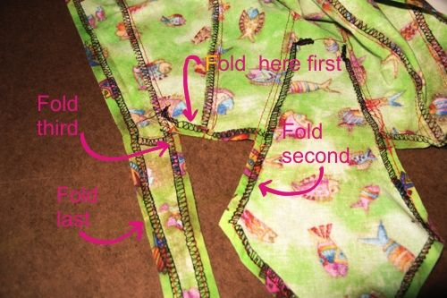 how to make a doo rag pattern