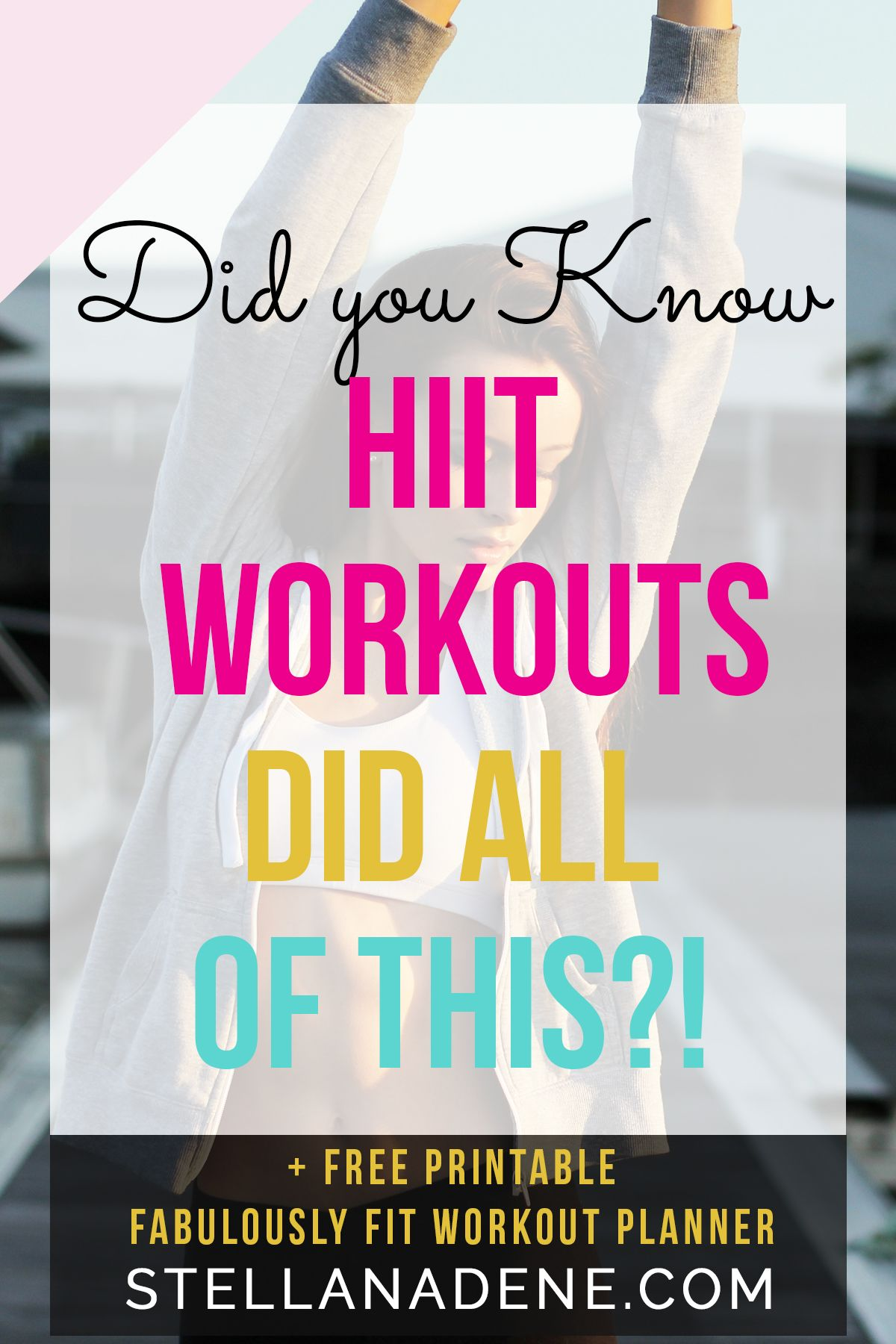10 Epic Reasons To Start Hiit Workouts Today Strength Workout Workout Hiit
