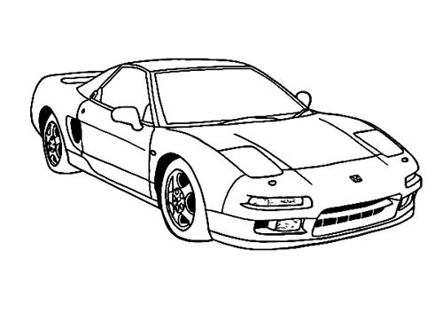 Dibujos de Carros para Colorear | dibujos para colorear | Pinterest ...
