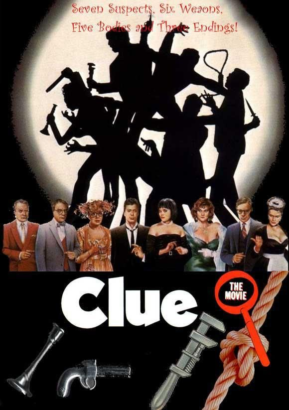 Clue 27x40 Movie Poster 1985