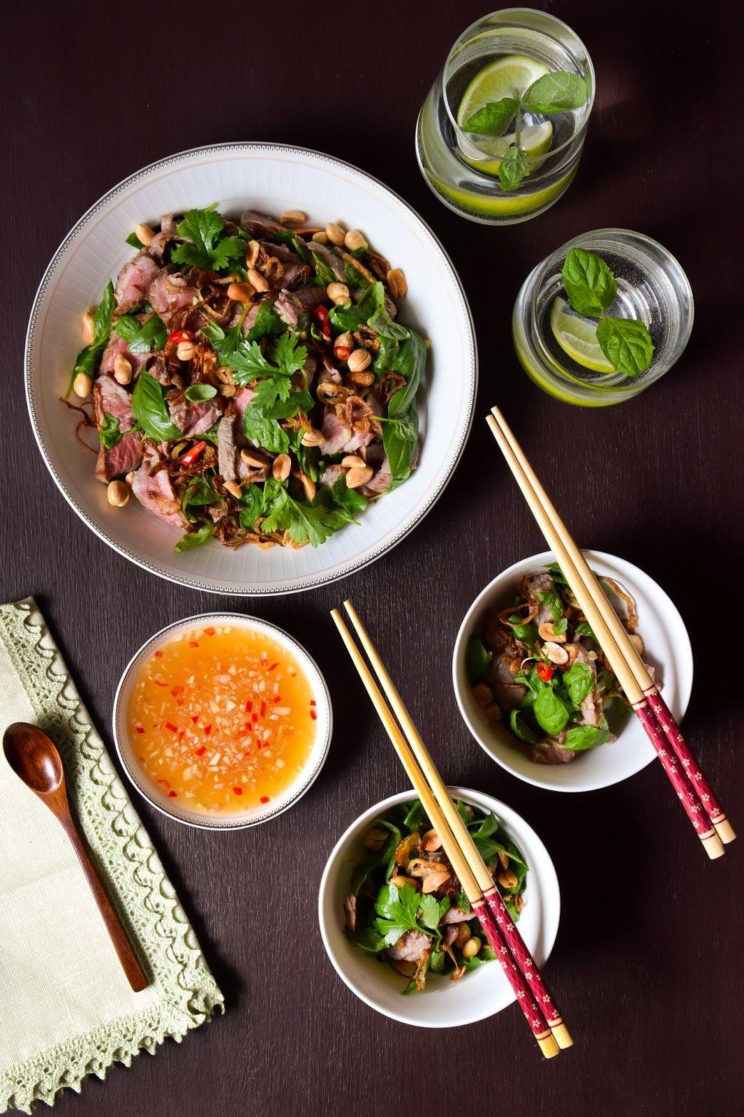 Muista syödä välillä...: Thaimaalainen naudanlihasalaatti