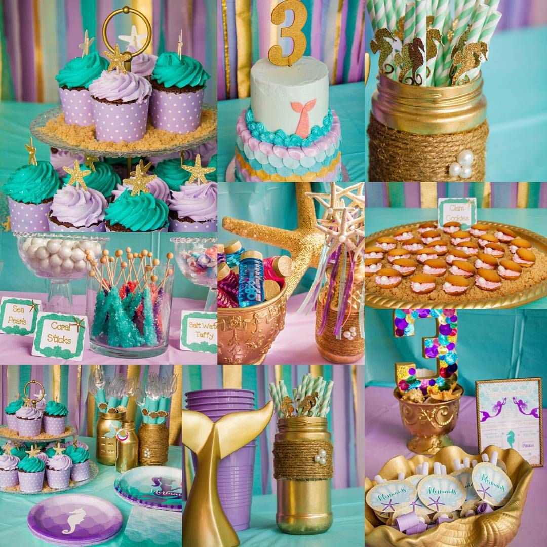 Mermaid birthday party mermaid party ideas pinterest for Fiesta tematica sirenas