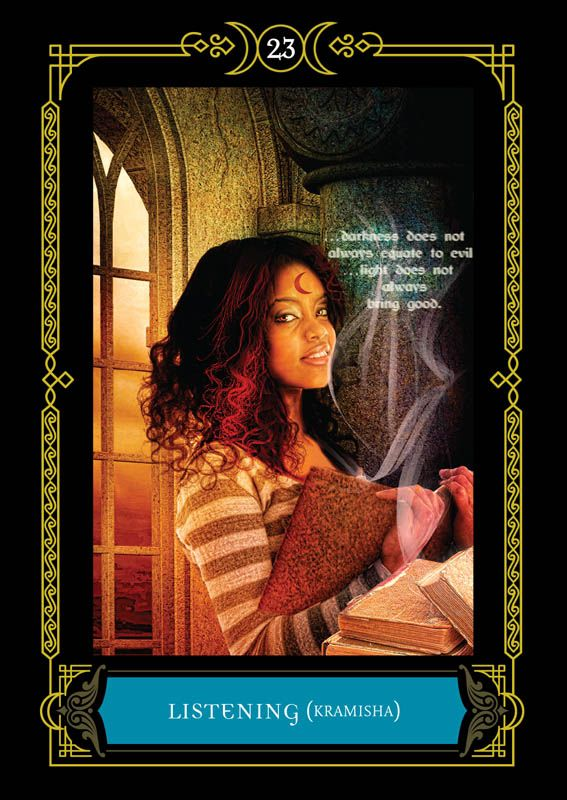The Daily Wisdom Pick Oracle Cards House Of Night Oracle Cards Oracle Card Reading