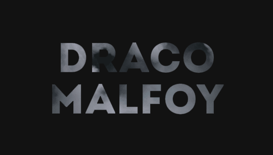 Hp Names Draco Malfoy Draco Malfoy Draco Malfoy
