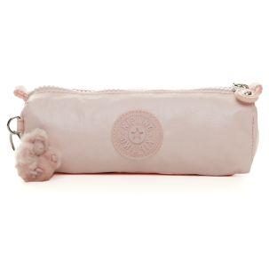 2e650590a Freedom Pen Case/Cosmetic Bag in Pearlized Sweet Pink #Kipling  #KiplingSweeps