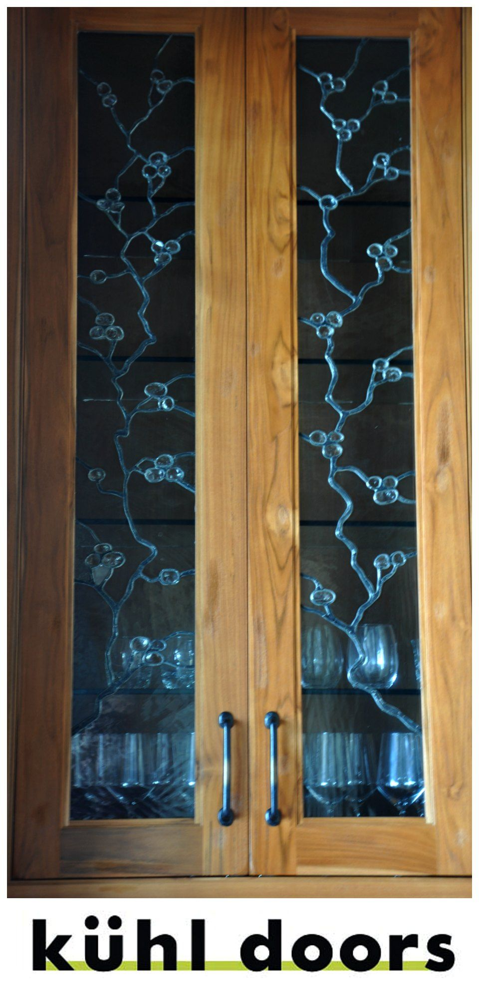 Glass Cabinet Inserts. Custom made leaded glass cabinet inserts give your  home a distinct and