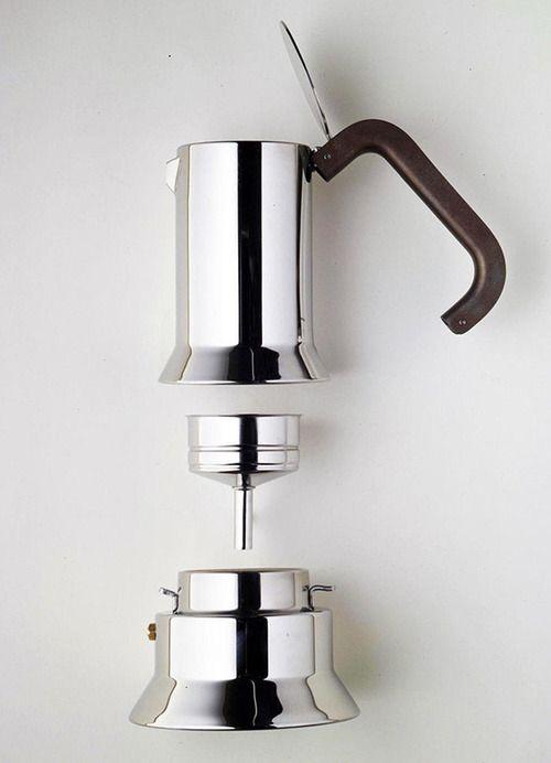 9090 espresso maker by Richard Sapper for Alessi