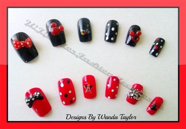 I found 'Micky and Minnie Inspired 3d nails set.......limited edition' on Wish, check it out!