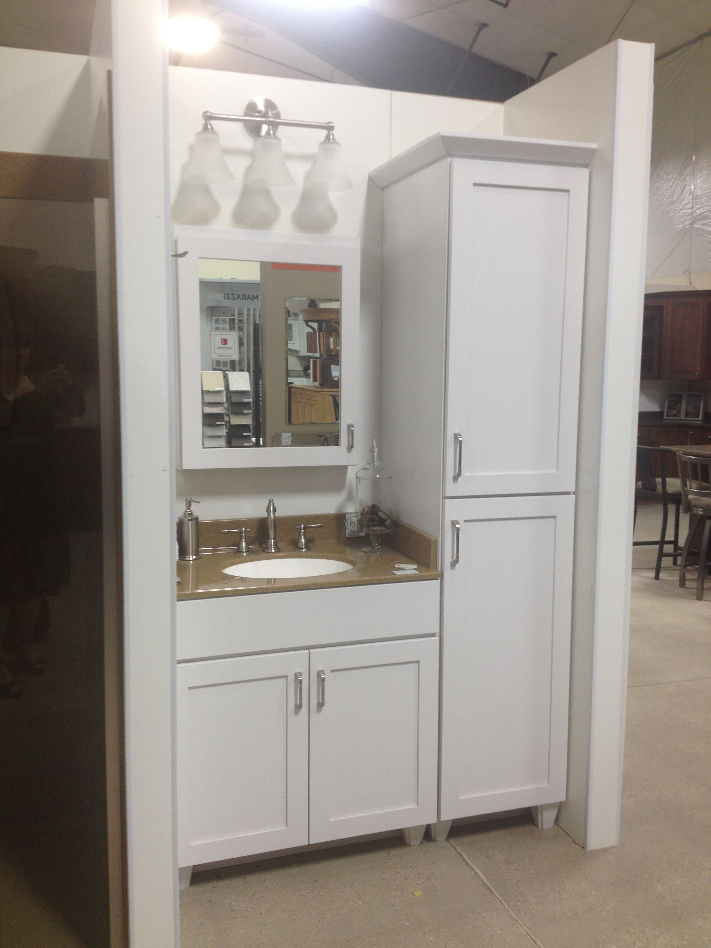 Delightful Affordable Kitchens, Baths And Appliances Bath Display.
