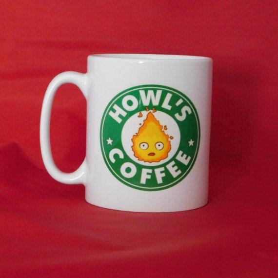 Howl's Moving Castle Calcifer Starbucks Inspired Coffee