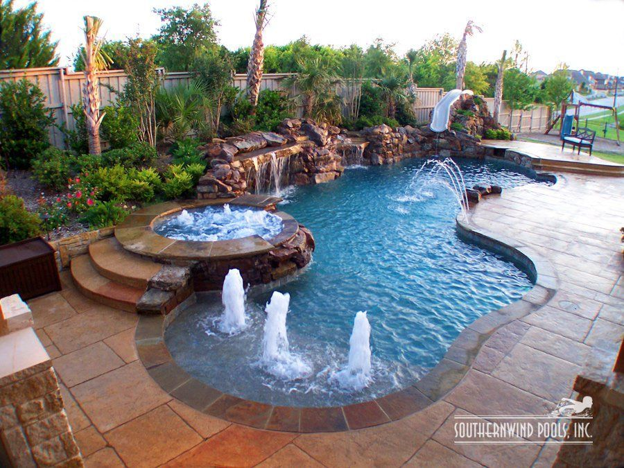 southernwind pools our pools natural free form pools