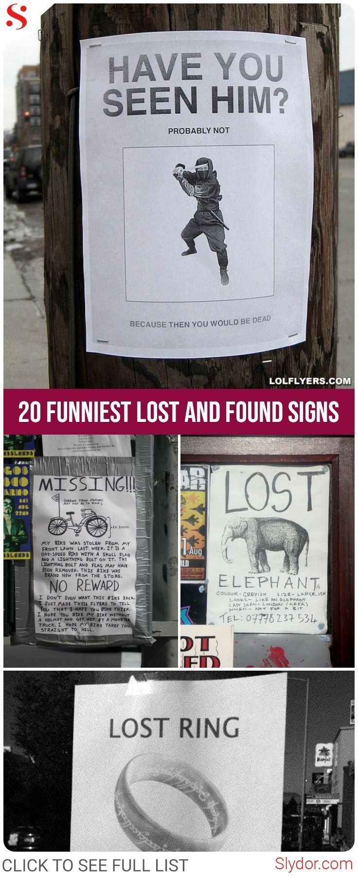 20 Funniest Lost And Found Signs That Will Make You Laugh Hard Freaking Hilarious Funny Photoshop