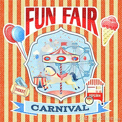 Fun Poster Templates Plantilla Del Cartel Del Carnaval Vintagefun Fair Carnival Cruz .