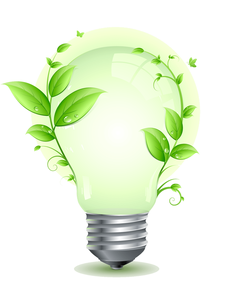 Save Elecrticity Png Image Save Energy Light Bulb Vector Energy Saving Light Bulbs