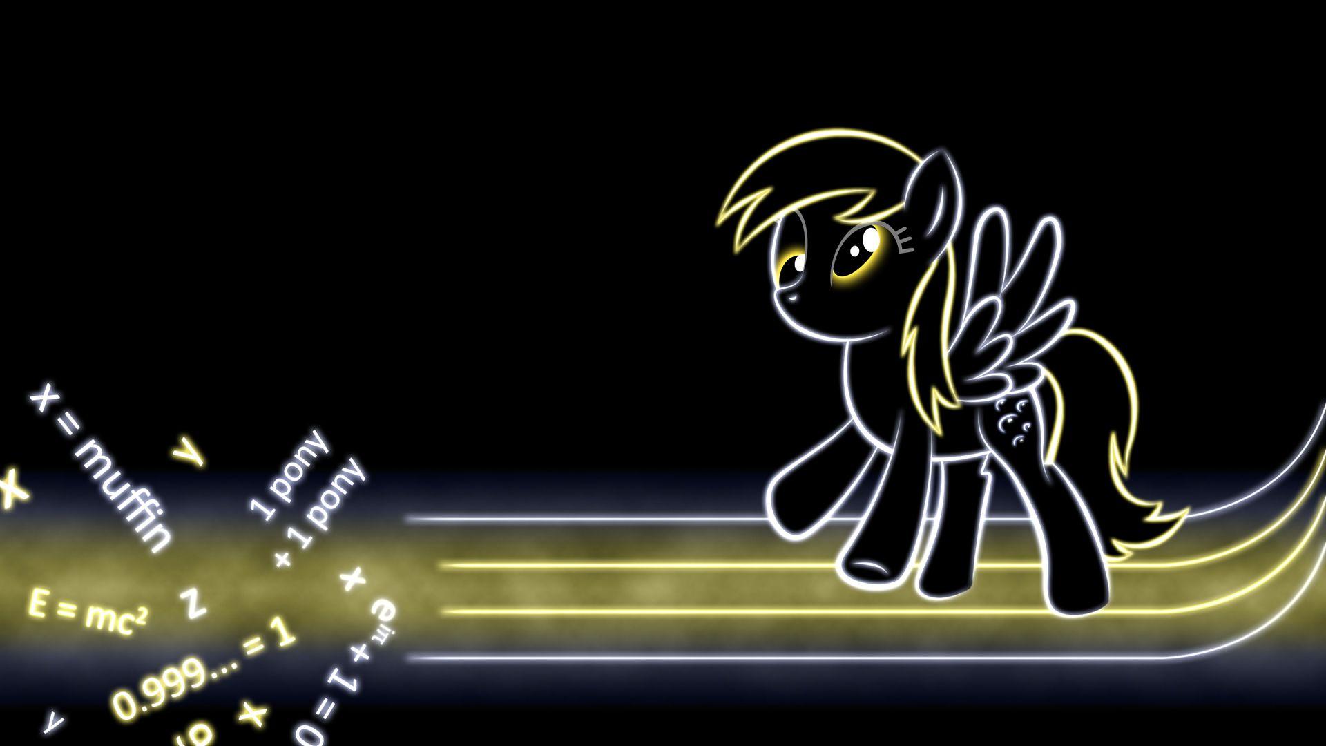 Derpy Hooves Glow Wallpaper My Little Pony Friendship My