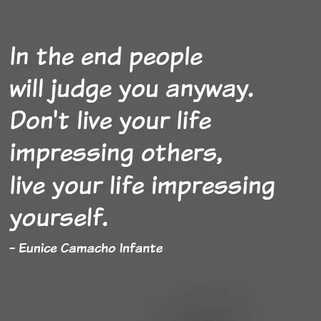 quotes on impressing others