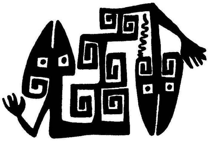 simbolos diaguitas  Buscar con Google  Muros y Paredes