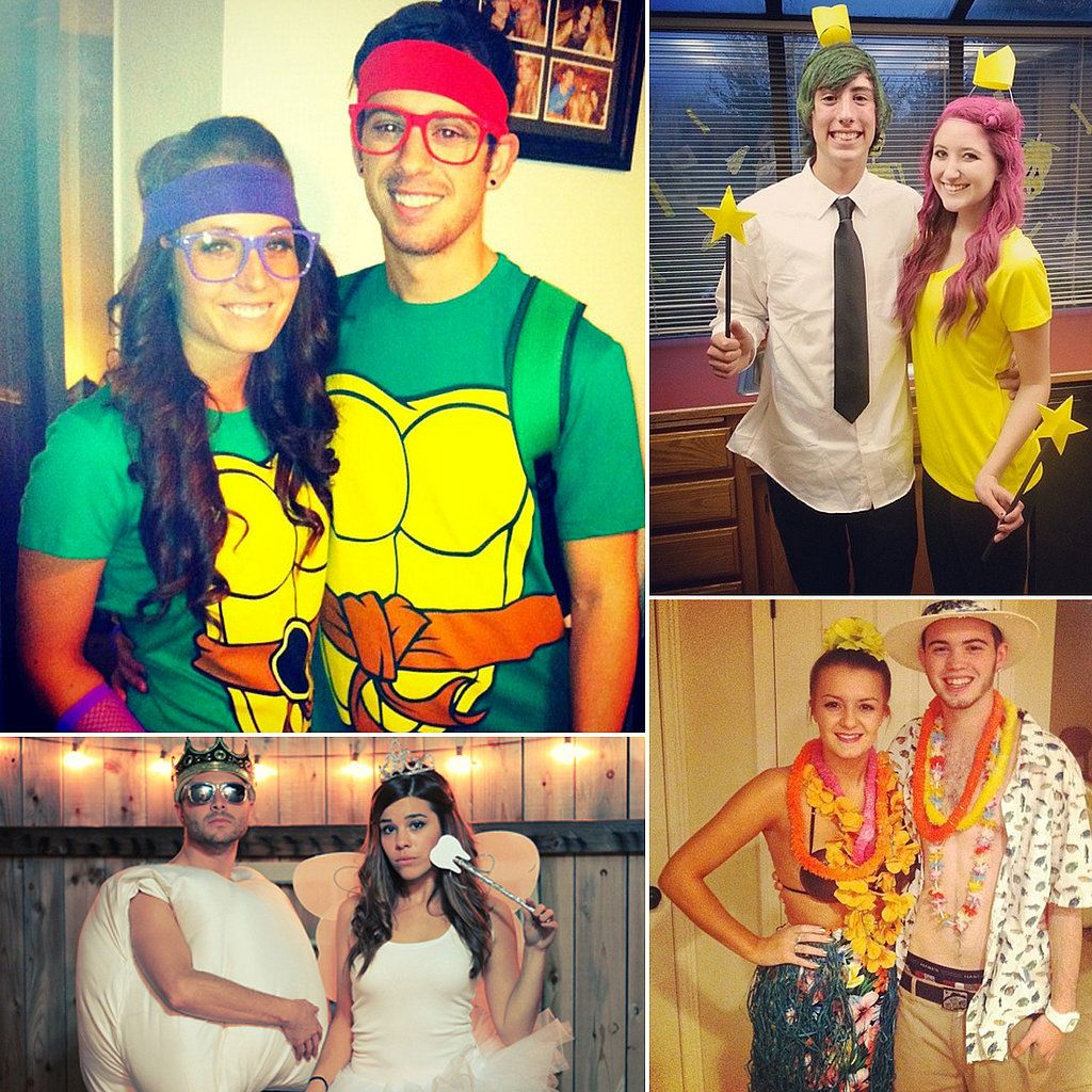 57 Cheap and Original DIY Couples Halloween Costumes | Diy couples ...