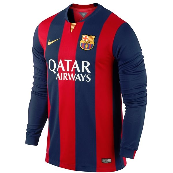 Get the best deals on barcelona home jersey when you shop the largest online selection at ebay.com. Barcelona 14/15 LS Home Soccer Jersey - WorldSoccerShop