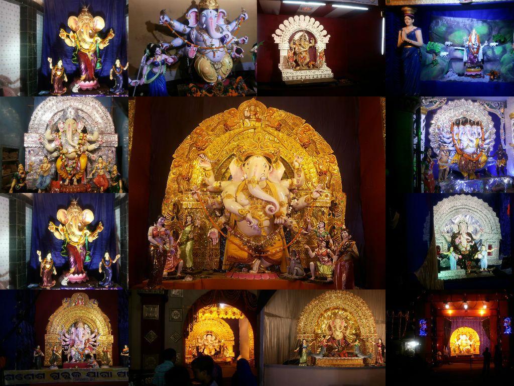 Ganesh Utsav at Puri #image #pic