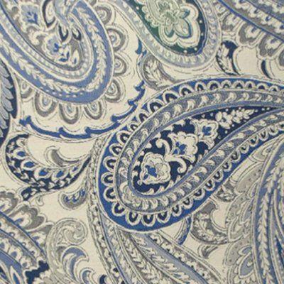 Rm Coco Wesco Montreal Fabric Paisley Fabric Printing On Fabric
