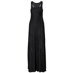 Black maxi dress h&m