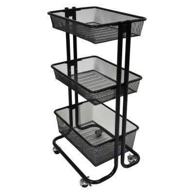 Marvelous Luxor Kitchen Utility Cart   KUC BK
