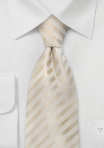 Ivory Colors Wedding Silk Tie Wedding Ties Stylish Outfits For