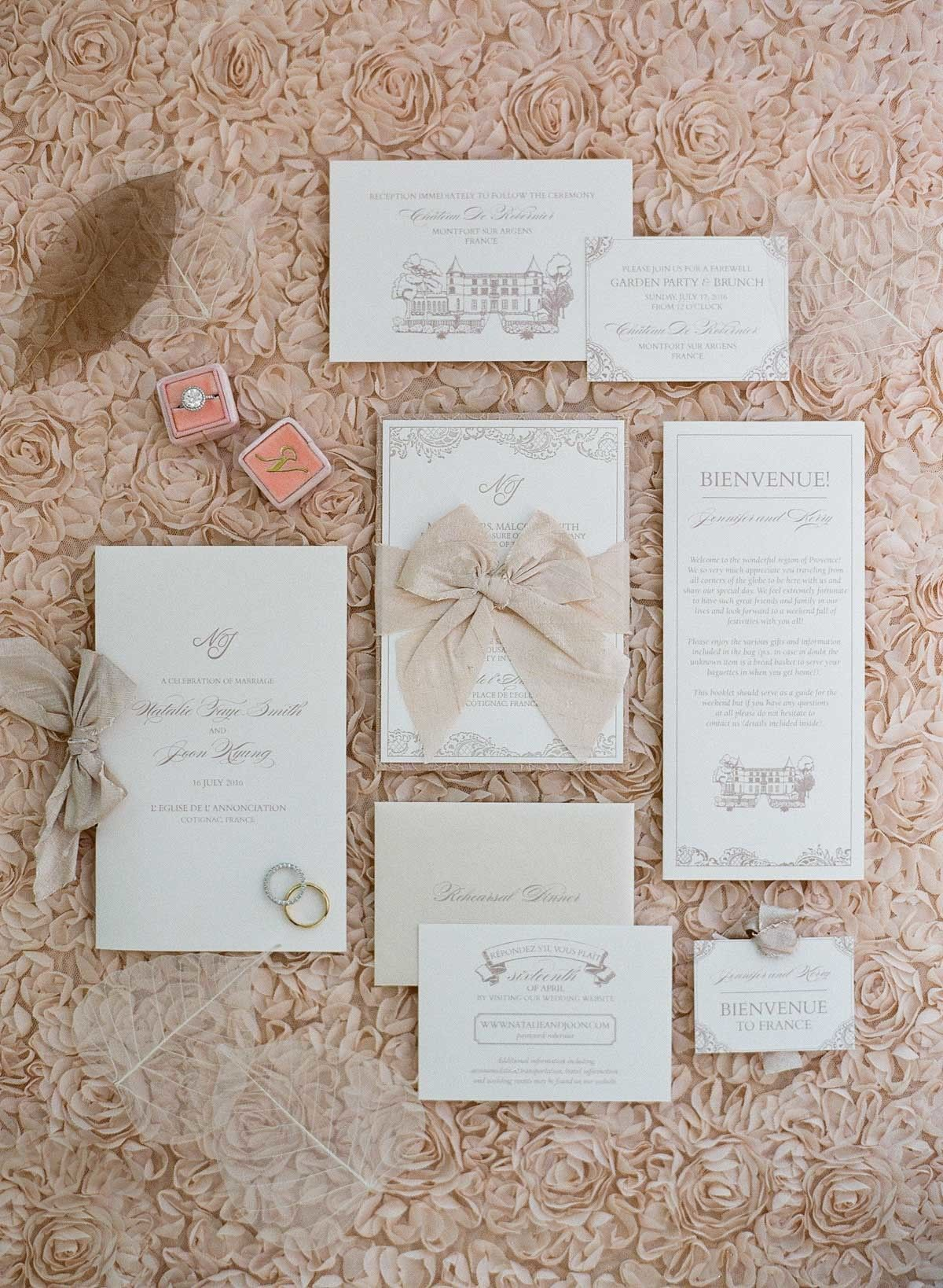 Glamorous Destination Wedding in Picture Perfect Provence
