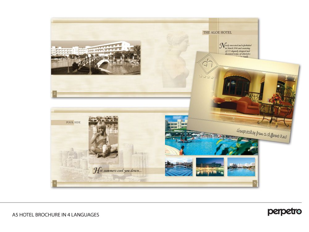 A5 Hotel Brochure by perpetro ALDire-H Pinterest Hotel - sample hotel brochure