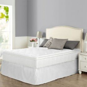Zinus Night Therapy Icoil 12 Euro Boxtop Spring Mattress And