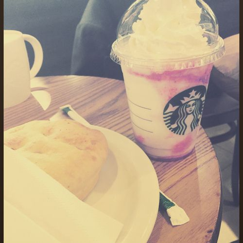 In the summer I go to Starbucks with my friends :)