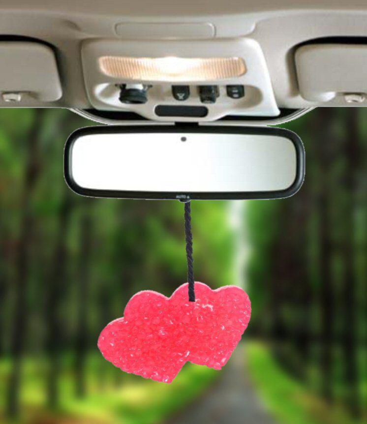 Items similar to Double Heart Strawberry Margarita Car