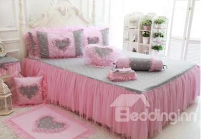 # 10973396 Cinderella Floral Lace Pink Princess 4 Piece Bedding Set (TO ORDER CLICK BLUE TITLE BELOW by sensationaltreasures
