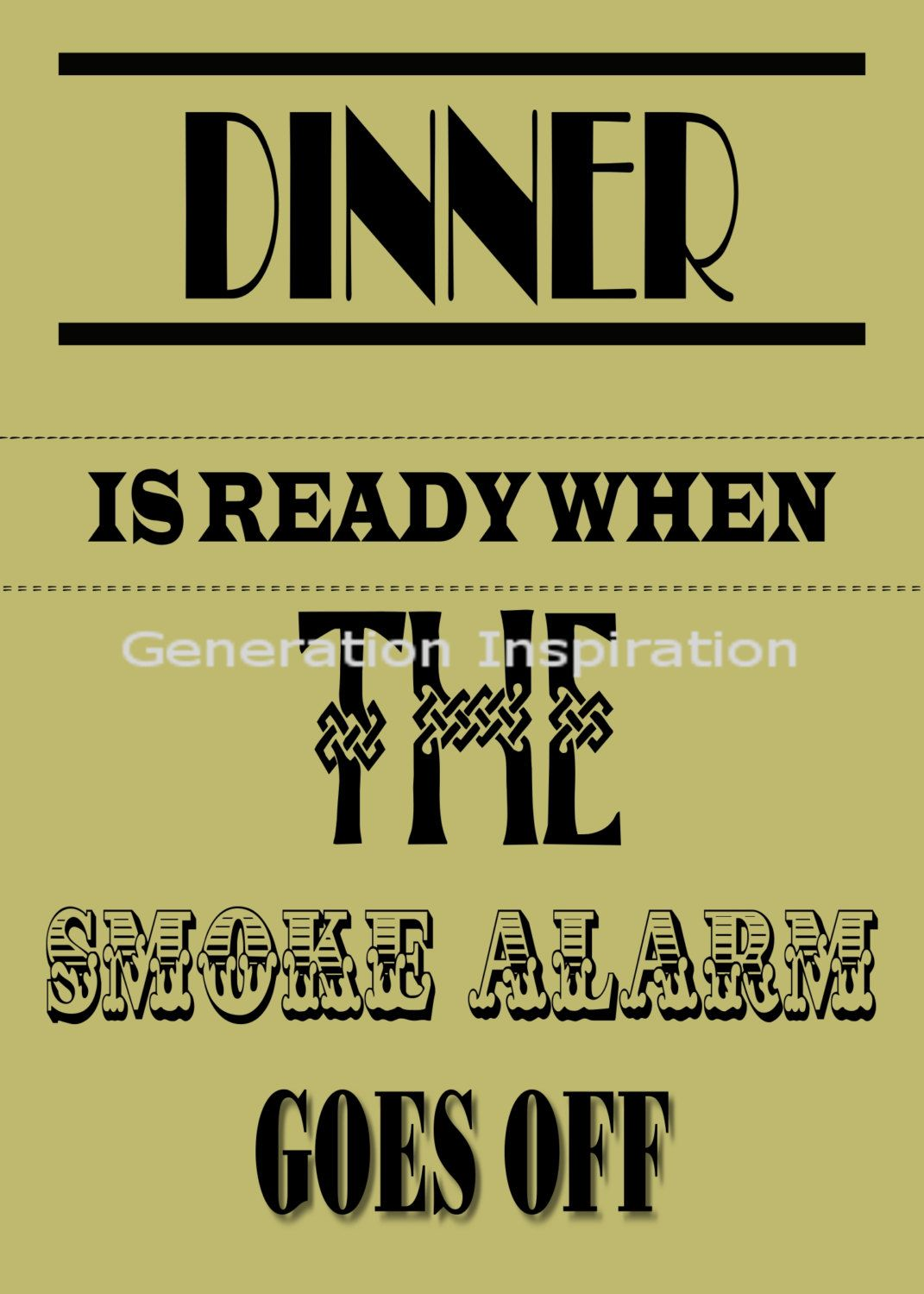 funny kitchen sayings  front design