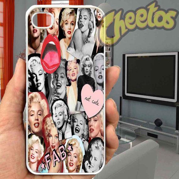 Marlyn Moonroe Photo - For iPhone Case,iPhone 4/4S/5/5S/5C, Samsung S3/S4/S5/S3 Mini/S4 Mini