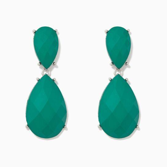 Emerald Green Keepsake Drop Earrings