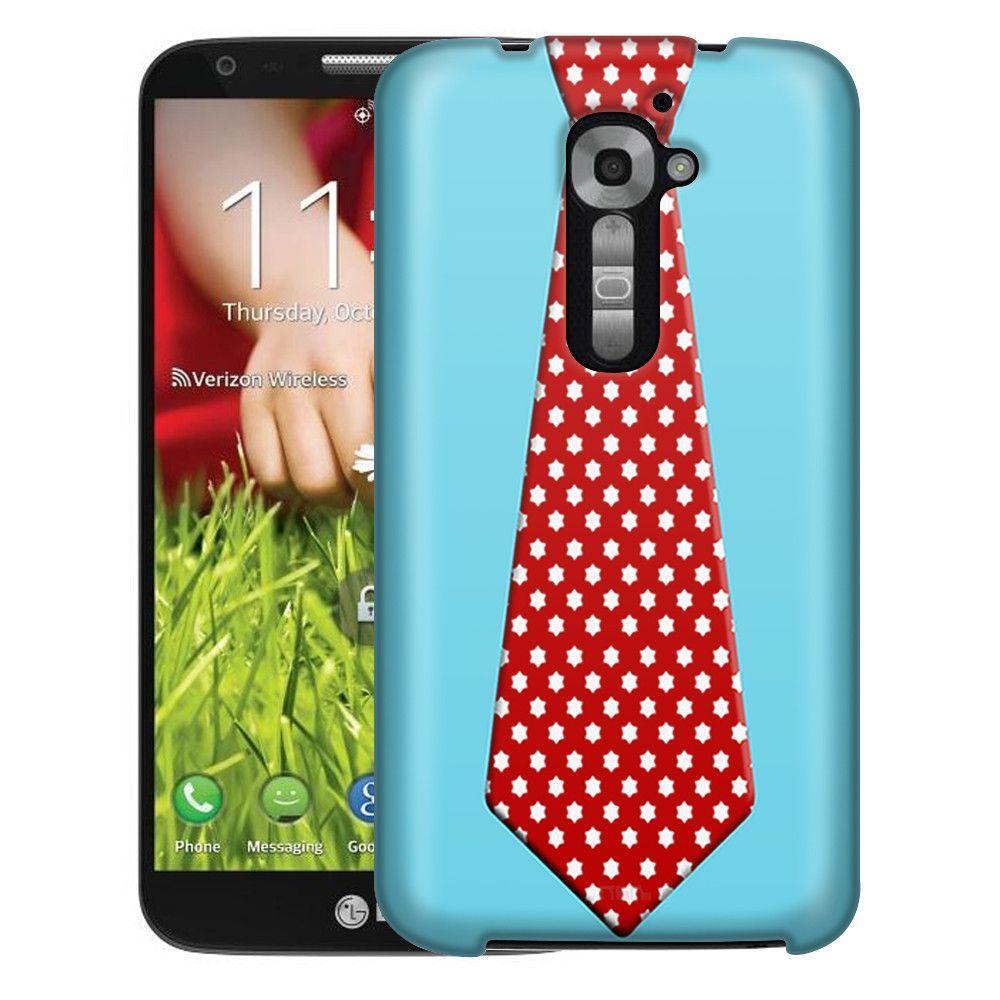 LG Verizon G2 Christmas Necktie 5 Slim Case