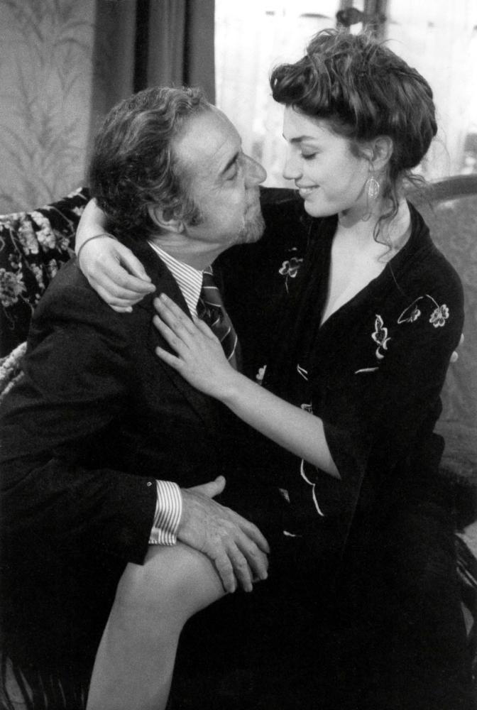 "Fernando Rey and Angela Molina ""Cet obscur objet du désir"" 1977 Directed by Luis Buñuel"