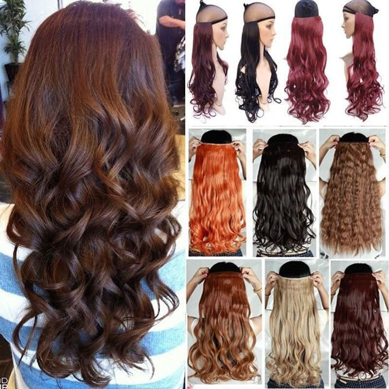 100 Real Thick 200g 17232426272930 Inches Clip In Full Head