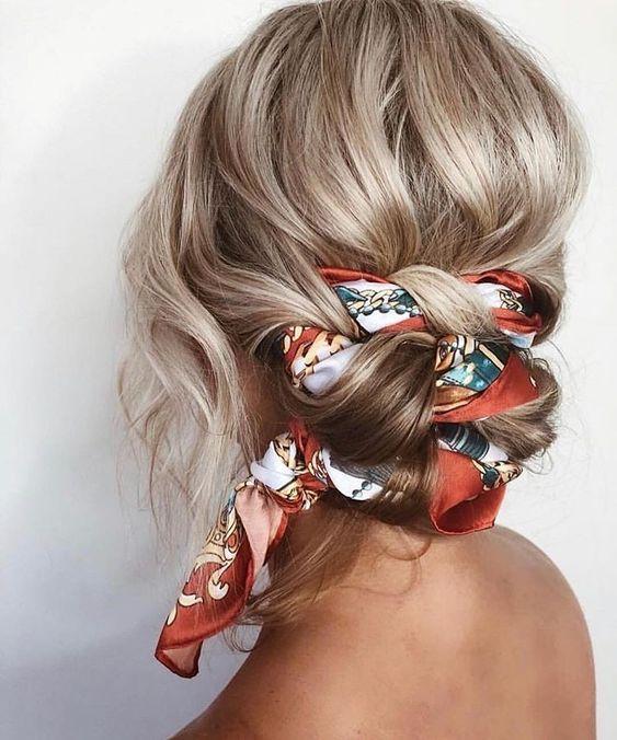 #TrendAlert: Apaszka #hairaccessories