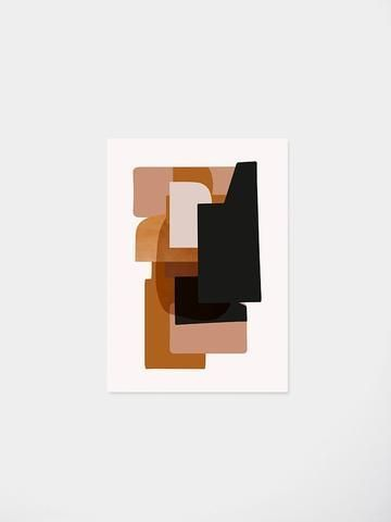 Abstraction 3 wall poster ferm living