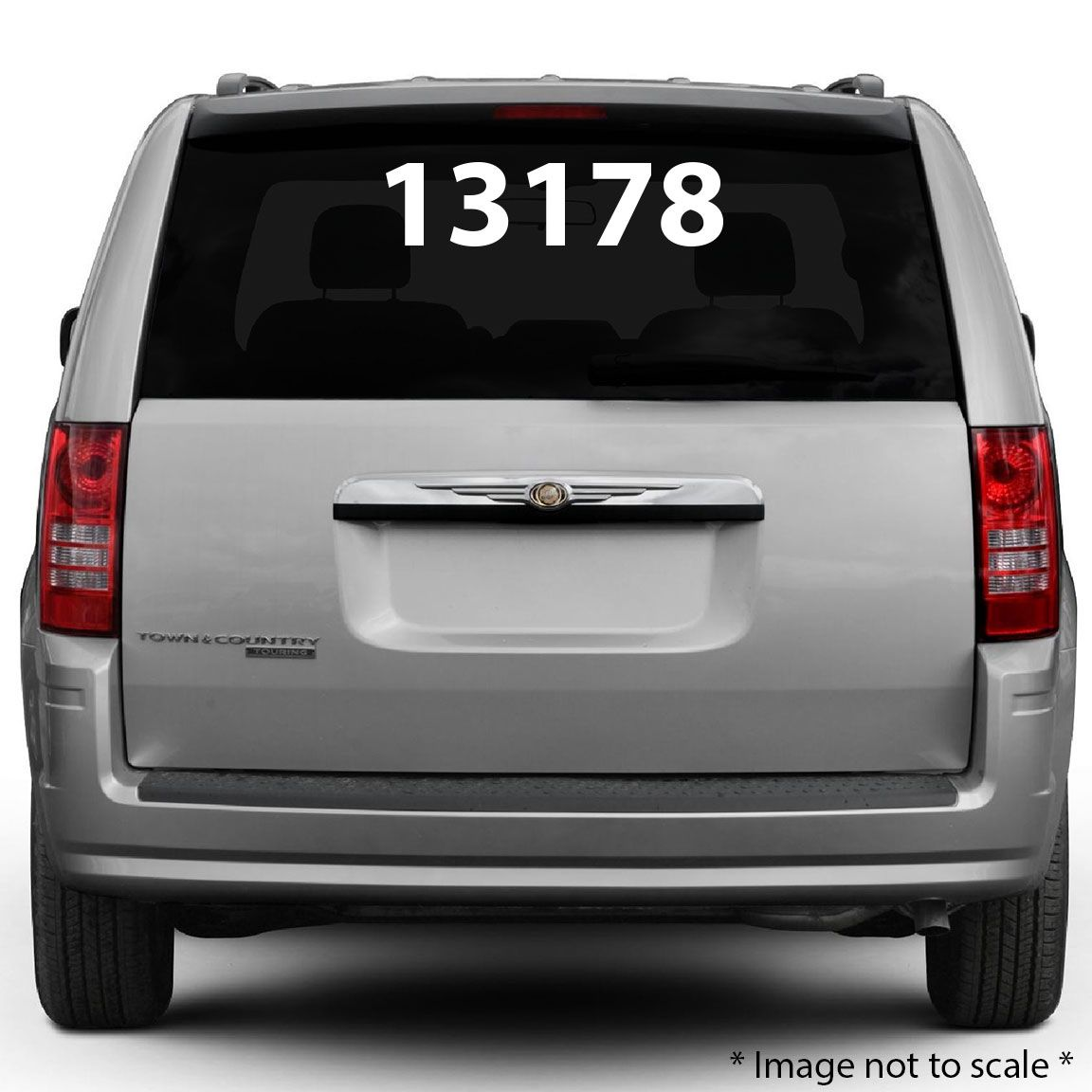 Rear Glass Decal Style - Custom rear window decals for cars