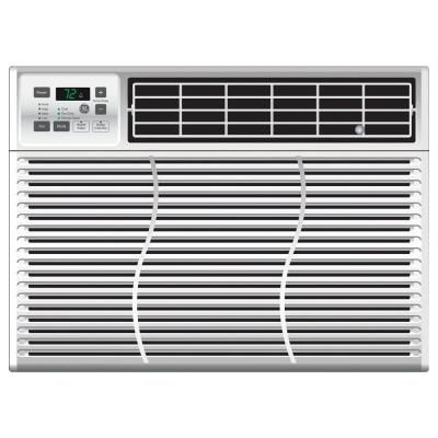 Ge 12 000 Btu Window Air Conditioner With Remote Ael12as The Home Depot Window Air Conditioner Room Air Conditioner Window Air Conditioners