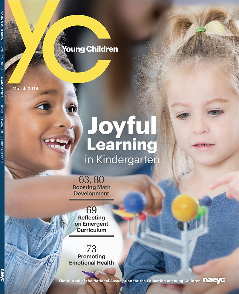 The March 2018 Issue Of Young Children Includes A Cluster Of