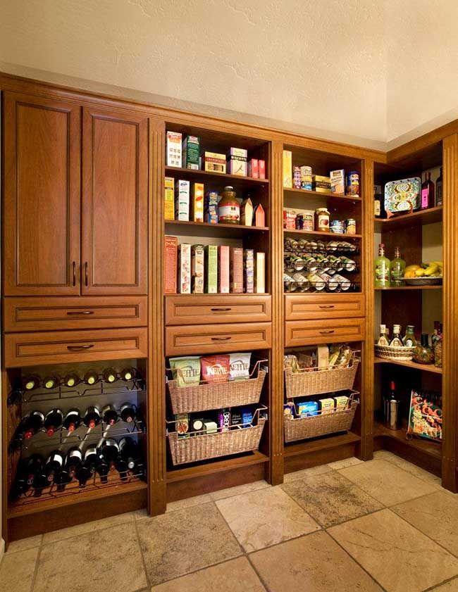 Kitchen Storage Ideas  Shelves Jars Racks And Organizers Glamorous Kitchen Pantry Storage Cabinet Decorating Design